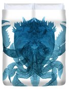 X-ray Of Deep Water Crab Duvet Cover