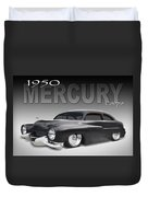 50 Mercury Coupe Duvet Cover