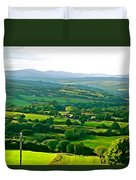 50 Shades Of Green Duvet Cover