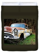 50's Cruiser Of The Past Duvet Cover by Steve McKinzie