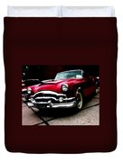 53 Packard Caribbean Convertible Coupe Duvet Cover