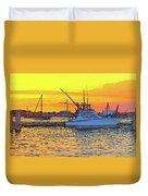 57- Sunset Cruise Duvet Cover