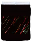 Abstract Motion Lights Duvet Cover