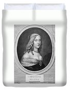 Christina (1626-1689) Duvet Cover