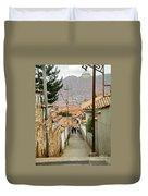 Cusco Peru Street Scenes Duvet Cover