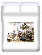 French Revolution, 1792 Duvet Cover