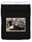 John Wycliffe (1320?-1384) Duvet Cover
