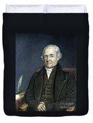 Noah Webster (1758-1843) Duvet Cover