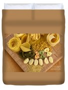 Pasta Duvet Cover by Photo Researchers, Inc.
