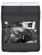 Route 66 Classic Car Duvet Cover