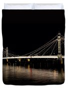 The Albert Bridge London Duvet Cover