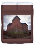 The Castle Of Tavastehus Duvet Cover