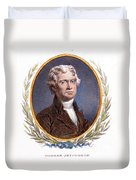 Thomas Jefferson (1743-1826): Duvet Cover