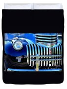 64 Chevy Grill Duvet Cover
