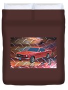 66 Fastback Duvet Cover