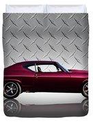 '69 Chevelle Duvet Cover