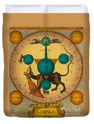 Alchemy Illustration Duvet Cover