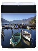 Ascona - Lake Maggiore Duvet Cover