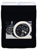 Classic Antique Car- Detail Duvet Cover