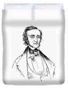 Edgar Allan Poe (1809-1849) Duvet Cover