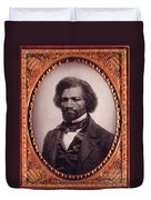 Frederick Douglass African-american Duvet Cover by Photo Researchers