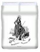 George Sand (1804-1876) Duvet Cover