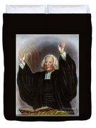 George Whitefield Duvet Cover