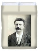 Guy De Maupassant Duvet Cover
