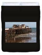 Hastings Pier Duvet Cover