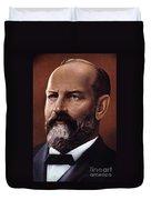 James A. Garfield (1831-1881) Duvet Cover