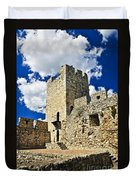 Kalemegdan Fortress In Belgrade Duvet Cover