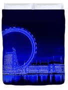 London Eye Art Duvet Cover