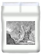 Quebec Expedition, 1775 Duvet Cover