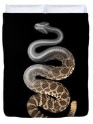 Southern Pacific Rattlesnake X-ray Duvet Cover