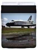 Space Shuttle Discovery Duvet Cover