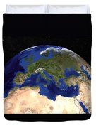 The Blue Marble Next Generation Earth Duvet Cover