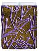 Tobacco Mosaic Virus, Tem Duvet Cover