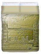 Tower Bridge Art Duvet Cover