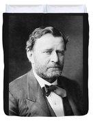Ulysses S. Grant, 18th American Duvet Cover