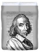 William Harvey, English Physician Duvet Cover by Science Source