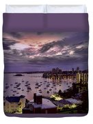 7th Floor View Macleay Street Potts Point Sydney Early Morning Duvet Cover