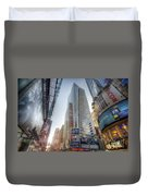 7th Street Nyc  Duvet Cover