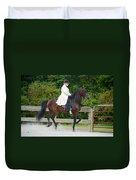 Class 31  Open Saddle Seat Pleasure  Duvet Cover