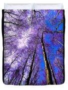 Epping Forest Trees Duvet Cover