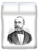 Rudolph Virchow, German Polymath Duvet Cover