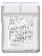 Samuel Taylor Coleridge Duvet Cover