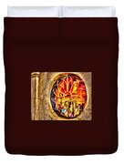 Sedona Tlaquepaque Shopping Center Duvet Cover