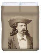 William F. Cody (1846-1917) Duvet Cover