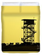82nd Airborne Division Soldiers Gather Duvet Cover