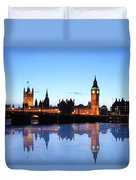 Big Ben And The Houses Of Parliament  Duvet Cover